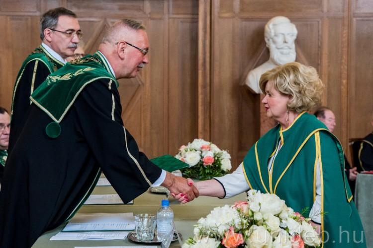 Doktorokat avatott a Debreceni Egyetem