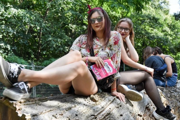 Máris tele az erdő! Fotókon a Campus-nyitány