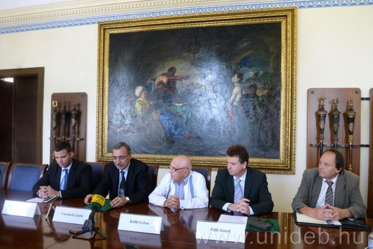 Nagyváradon terjeszkedik a Debreceni Egyetem