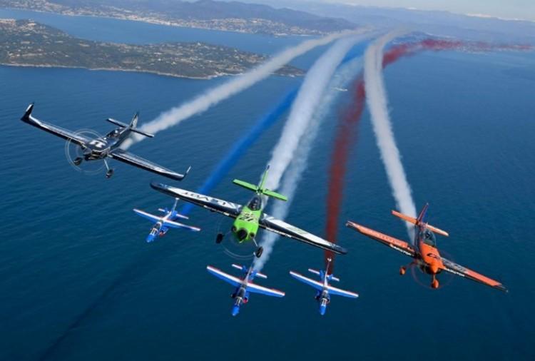 A Balatonra költözött a Red Bull Air Race