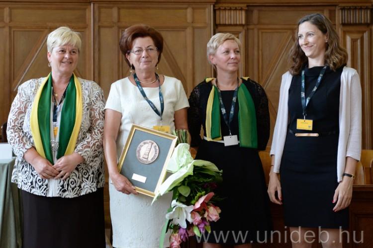 Debrecenben adták át a Sebalda-díjat