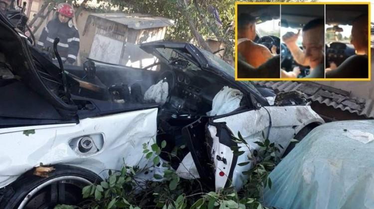 Három halott a Facebookon közvetített romániai balesetben