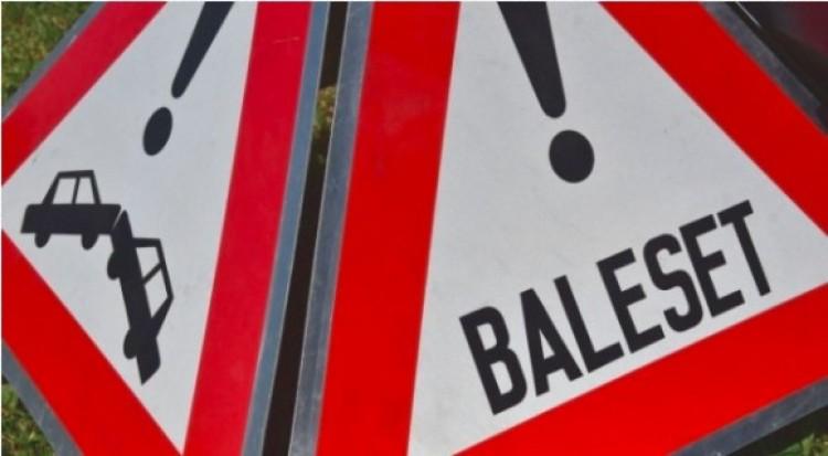 Súlyos baleset a Dóczy-Martonfalvi kereszteződésénél