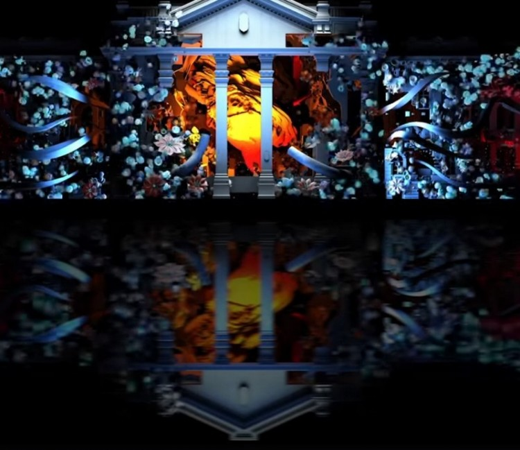 Ilyen lesz a fényfestés Debrecenben +videó