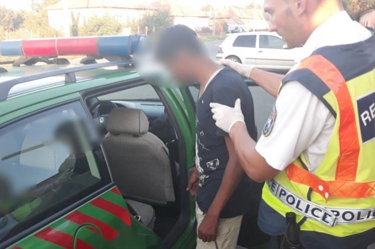 Három illegális határátlépőt tartóztattak fel Kismarjánál