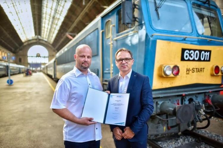 Katasztrófát előzött meg a magyar mozdonyvezető