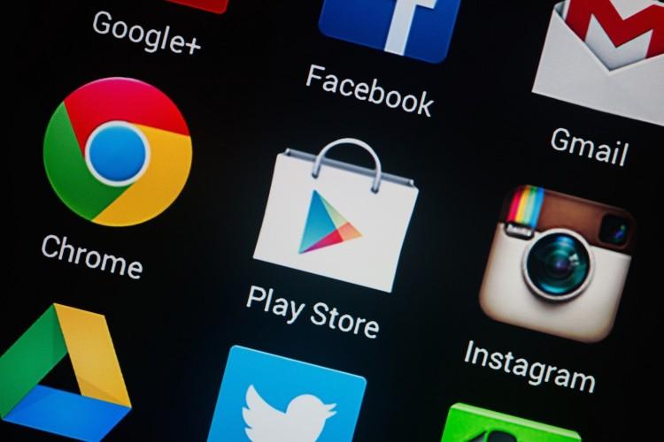 Új dizájnt kapott a Google Play áruház