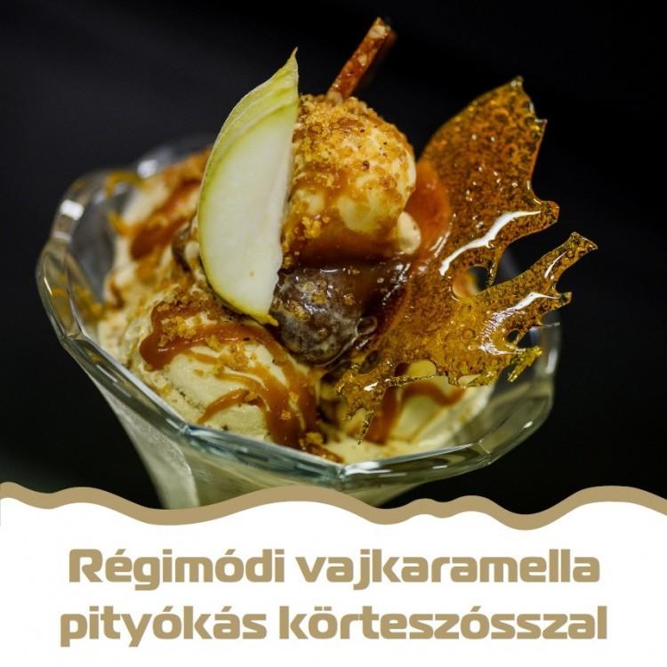 Pityóka és körte is ízesíti Debrecen fagyiját