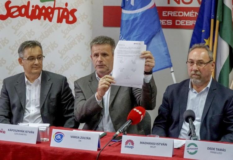 Itt a DK-MSZP-Párbeszéd-Szolidaritás választási programja!