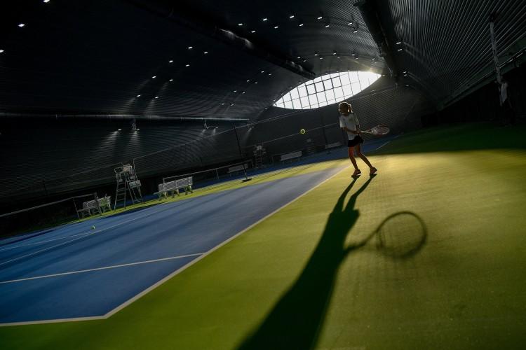 Újabb debreceni ász: teniszközpontot adtak át