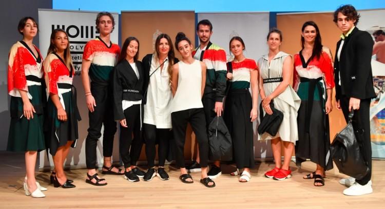 Tetszik? Így öltözködnek majd a magyar sportolók Tokióban!