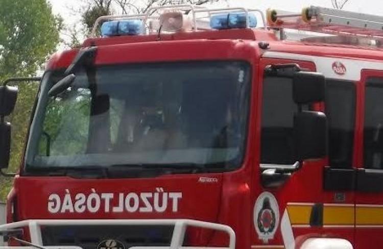 Szalagkorlátnak ütközött Hajdúdorog közelében