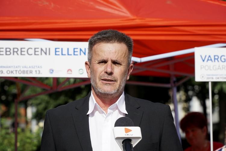 Varga Zoltán: a debreceniek a lábukkal szavaztak