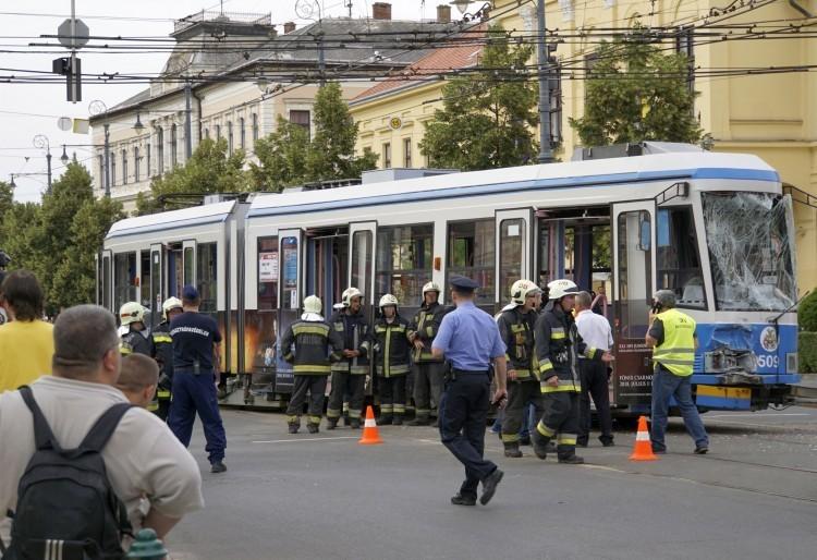 Villamosbaleset Debrecenben: vádat emelt az ügyészség