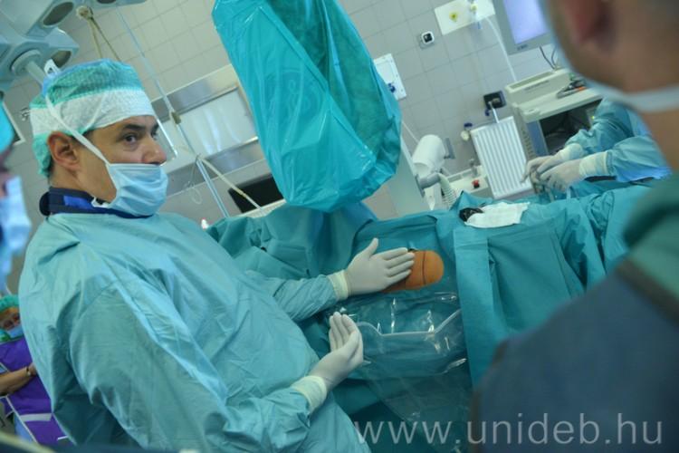Úttörő változás a debreceni vesekőműtétekben