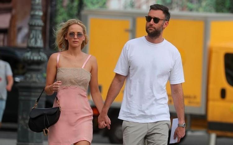Jennifer Lawrence kimondta a boldogító igent