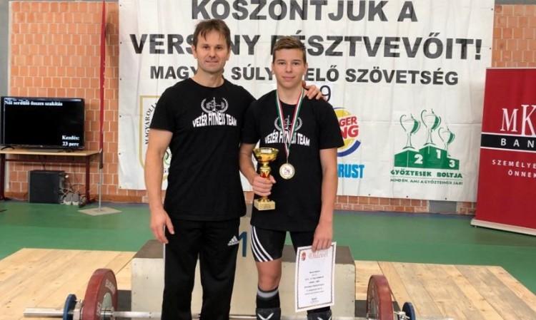 Magyar bajnoki cím járt a debreceni ifjú titánnak