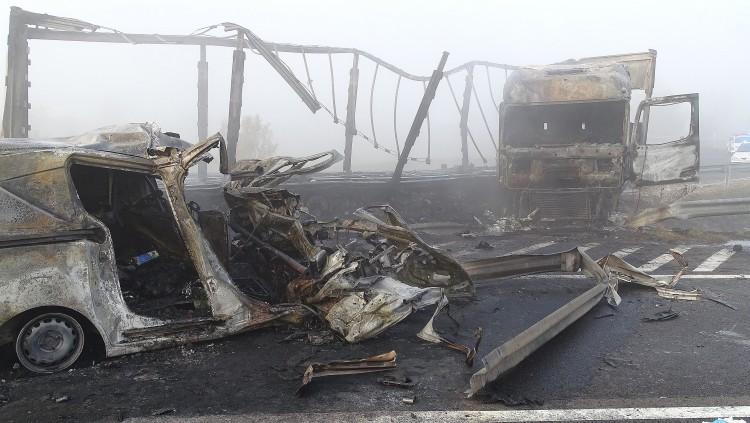 Tragédia az M5-ösön: hét halott