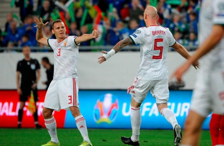Óriási gólt lőtt a volt debreceni a válogatottban + VIDEÓ!