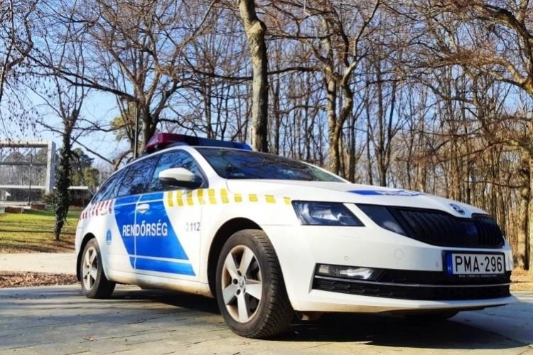 Részeg autós botlott rendőrökbe az egyirányú Szent Anna utcán