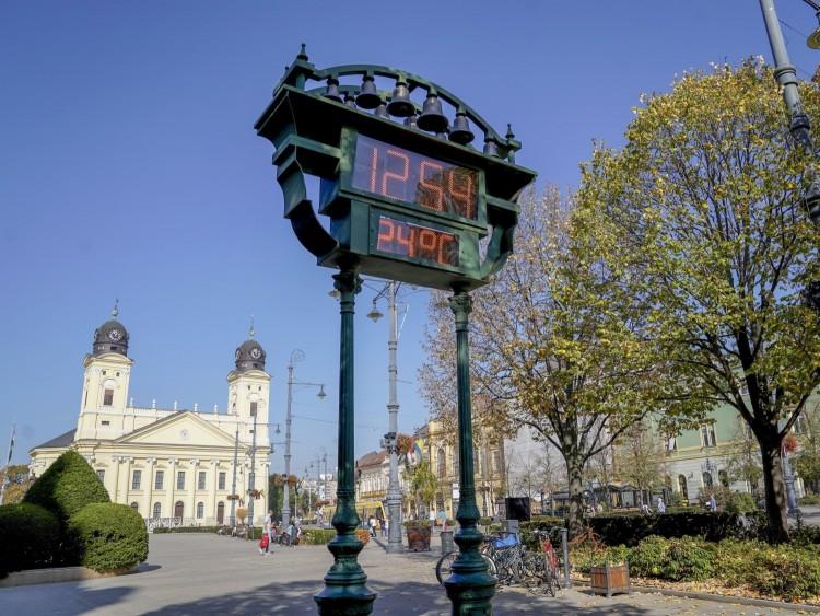 Évszázados viszonylatban is rekordmeleg van Debrecenben– SZAVAZÁS
