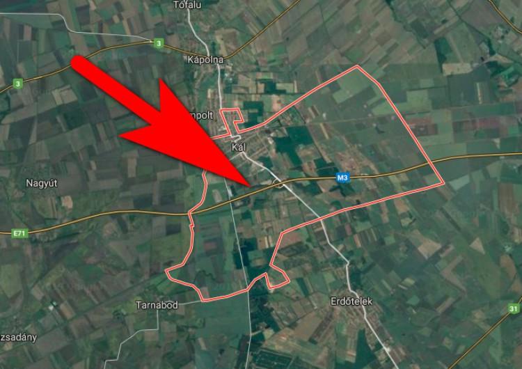 Megbénult az M3-as Miskolc felé