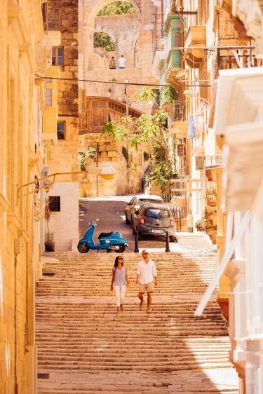 Derűs, nyüzsgő ősz és tél Máltán