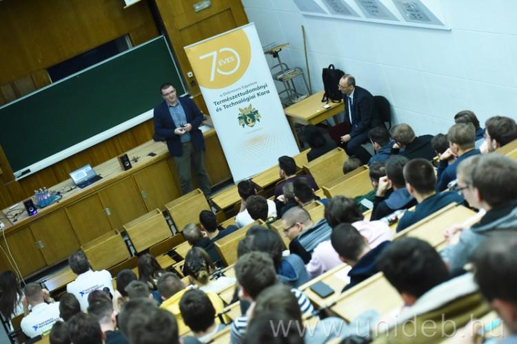 Karrierlehetőségeket kínáltak a Debreceni Egyetemen