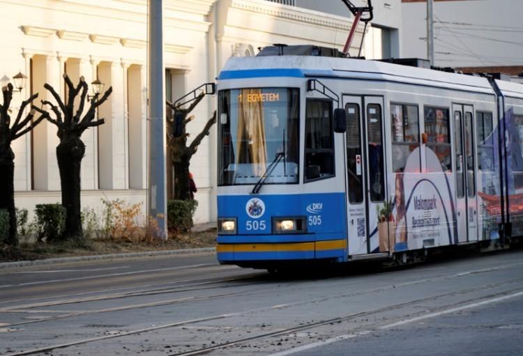 Forgalomkorlátozás a villamosvonalon Debrecenben