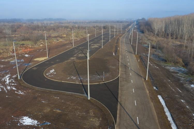 Új utat adták át Debrecen északnyugati részén