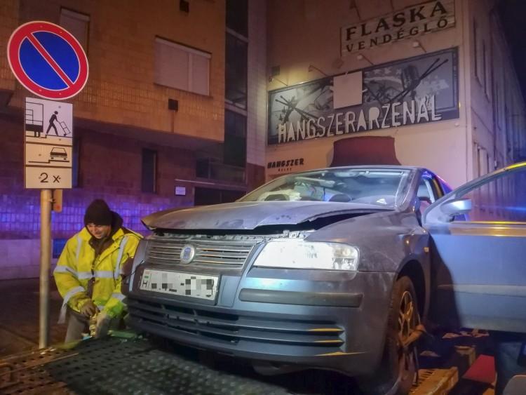 Három sérült Debrecen belvárosában