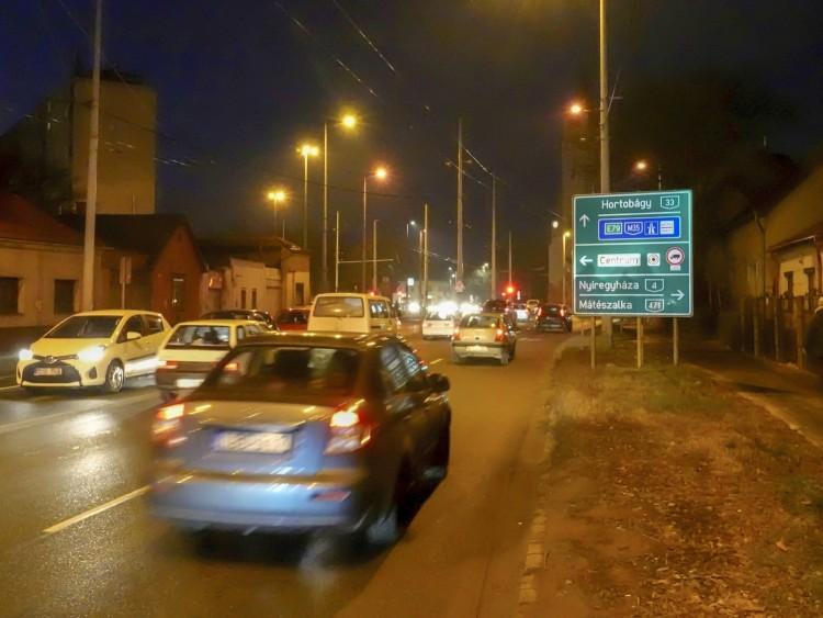 Új sávval bővítenék Debrecen egyik legforgalmasabb csomópontját