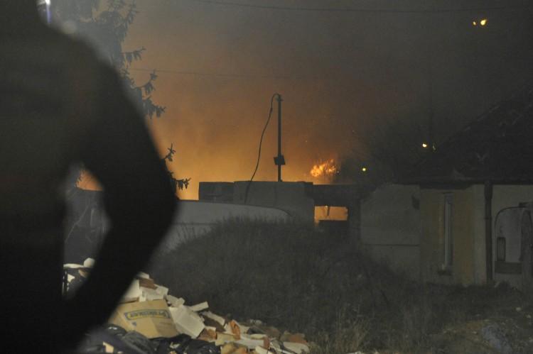 Hatalmas tűz Budapesten: öt épület lángolt