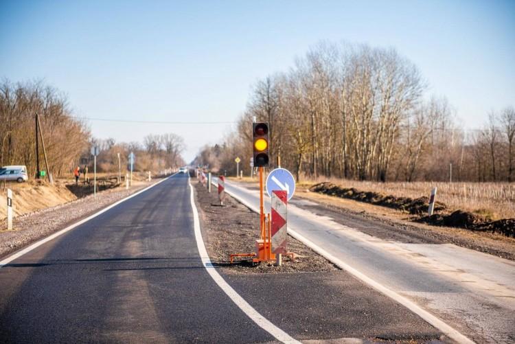 Debrecen és Vámospércs között folytatódnak a munkálatok