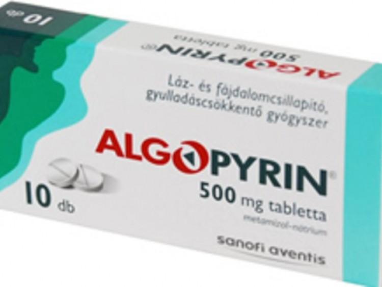 Ismét recept nélkül lehet kapni Algopyrint