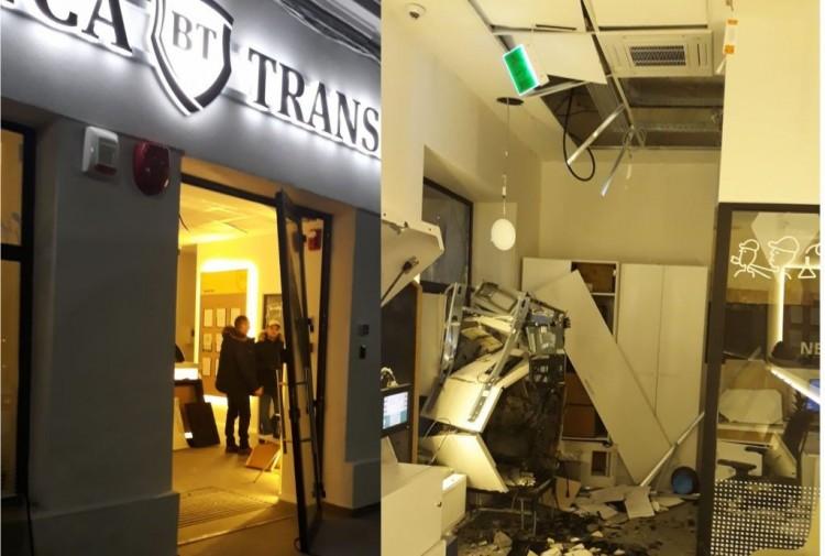 Profi tolvajok robbantottak fel bankautomatákat