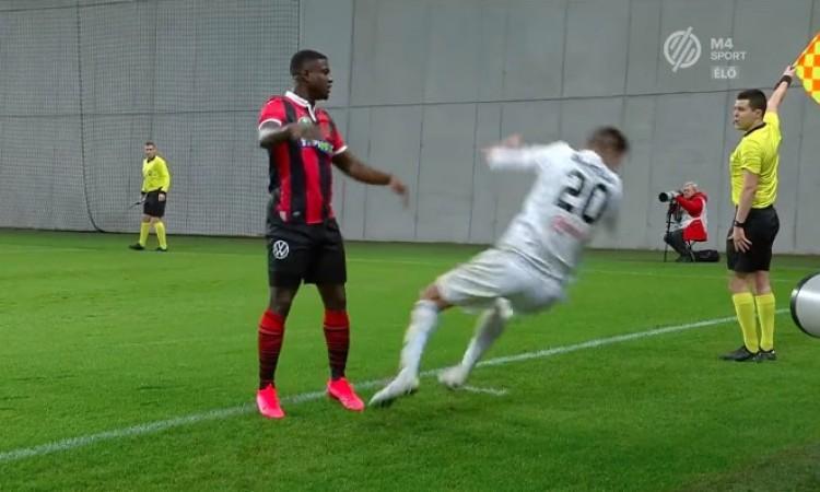 Ez a magyar futballista színésznek is nagyon gyenge + VIDEÓ!