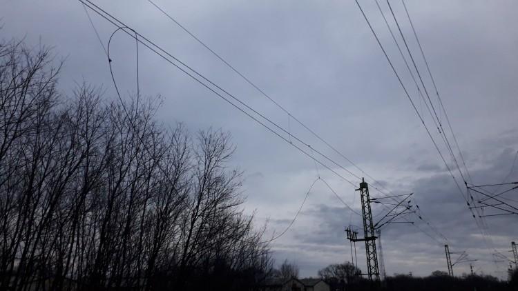 Vesztegel a Debrecenből Pestre tartó vonat