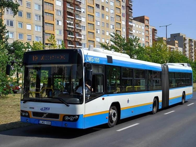 Fertőtlenítik a debreceni tömegközlekedési járműveket