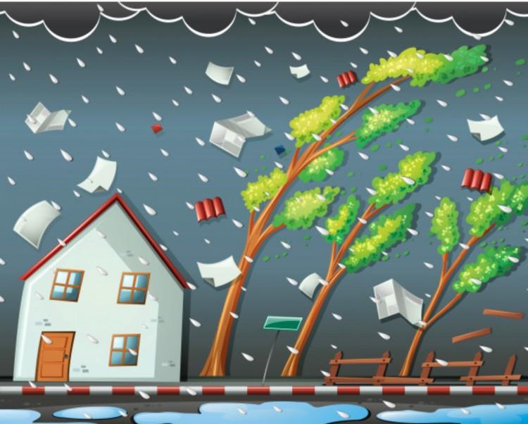 Bontott a szél Balmazújvároson