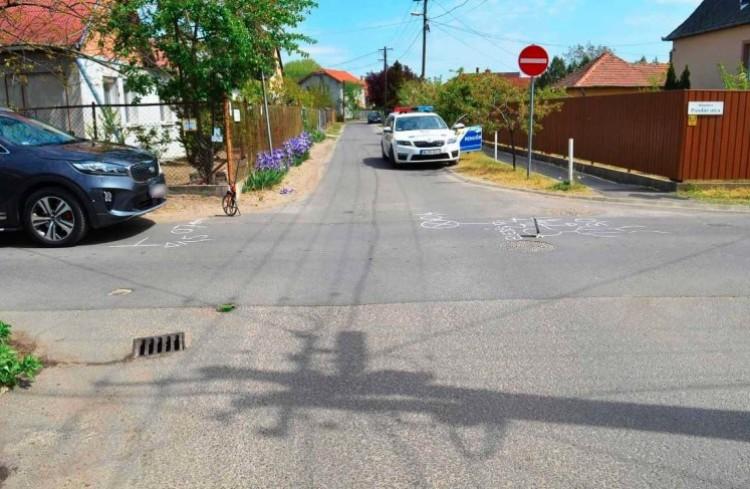 Ezt elszúrta a debreceni biciklis