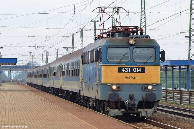 A járvány miatt 80 százalékkal csökkent a vonaton utazók száma
