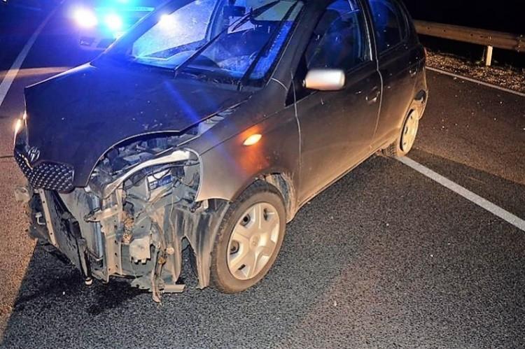 Szalagkorlátnak csapódott a részeg nyíradonyi sofőr