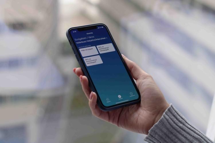Applikáción keresztül is lehet bérletet venni a Volánbusz járataira