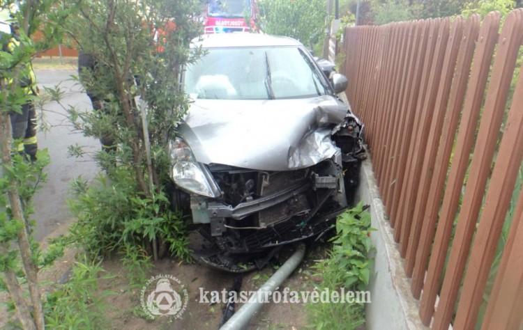 Kórházba vitték a debreceni baleset sérültjeit