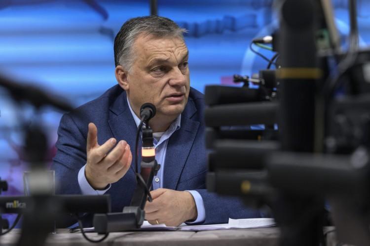 Orbán: a baloldalt leszámítva mindenki összefogott Magyarországon