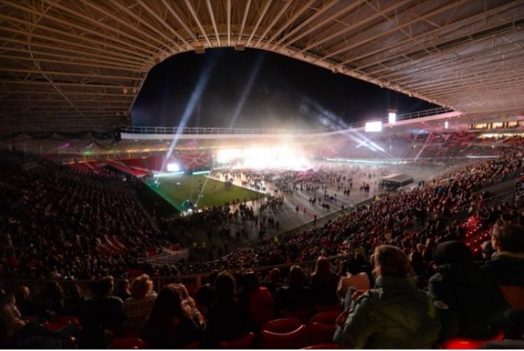 Több mint húszezren a Nagyerdei Stadionban. Ez a Debreceni Egyetem!