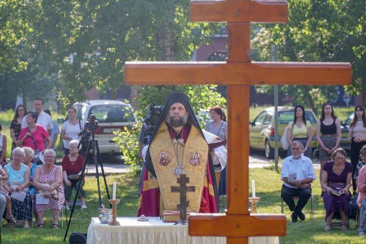 Görögkatolikus templom alapkövét tették le Debrecenben