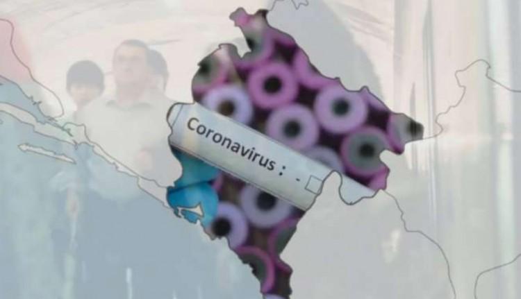 Ismét kihirdették a járványhelyzetet Montenegróban