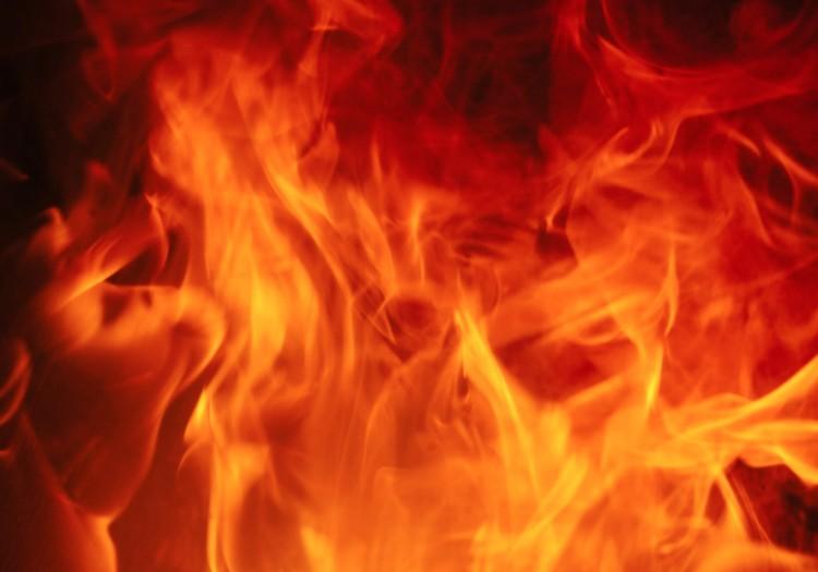 Munkagép lángolt Hajdúszoboszlón